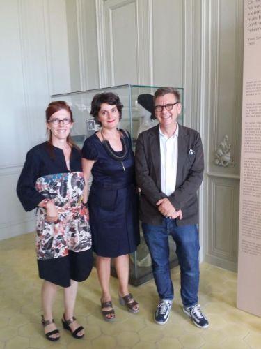 Fabienne Vandenbrouck, Christine Germain et Jean-Paul Camargo
