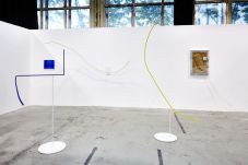 François Ghebaly gallery, Los Angeles, avec Davide Balula, Neïl Beloufa, and Sayre Gomez ART-O-RAMA 2016, Marseille ©jcLett