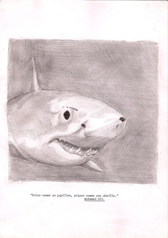 téphane Arcas, Sans titre, 1994, dessin sur papier machine, 21x 29,7 cm (Lieu commun)