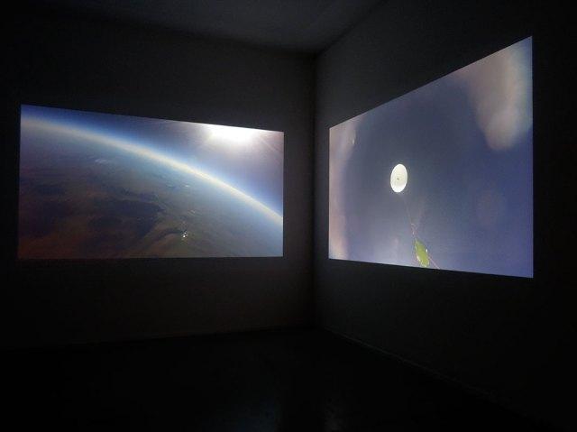David Haines & Joyce Hinterding, Sound Ship (descender 1), 2016. Résonances magnétiques à La Panacée, Montpellier
