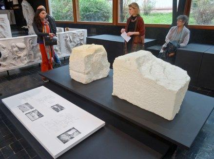 Arnaud Vasseux - Les pierres oubliées de Samothrace au Musée des Moulages, Montpellier (Visite commentée par les étudiantes de Université Paul Valéry Montpellier 3)
