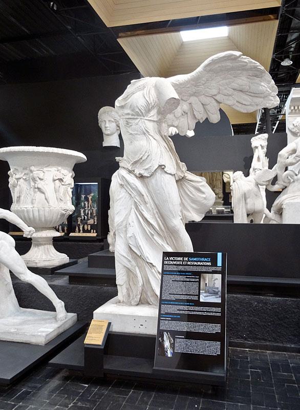 Moulage de la Victoire de Samothrace, Musée des Moulages – Université Paul Valéry Montpellier 3