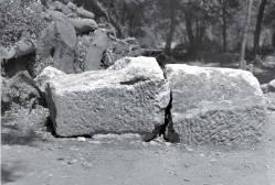 Bloc C2, Sanctuaire des Grands Dieux, Samothrace, 1952