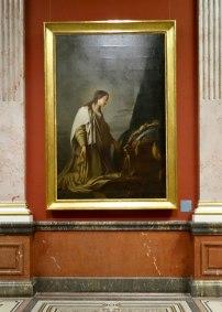 Louis Joseph Le Lorrain, Sainte Elisabeth en oraison, 1755 - Musée Fabre - Galerie des Colonnes