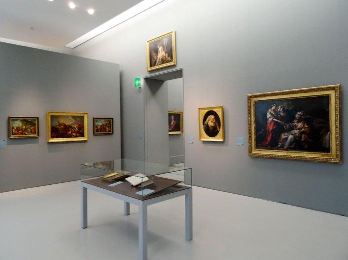 Joseph-Marie Vien - Musée Fabre - Salle Subleyras