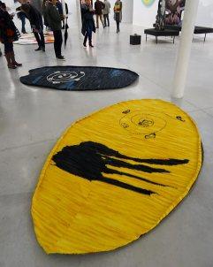Jennifer Tee, Crystalline Floor / Oval Yellow & Oval Blue. Retour sur Mulholland Drive - La Panacée Montpellier