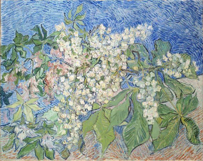 Vincent van Gogh, Branches de marronniers en fleur 1890 Huile sur toile, 73 x 92 cm, F 820. Fondation Collection E. G. Bührle, Zurich