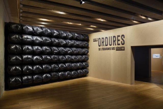 Exposition «Vies d'ordures» au Mucem – 2017 © François Deladerriére - Mucem