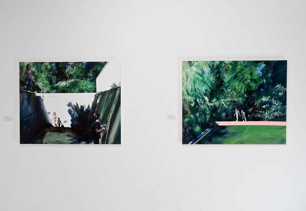 Abel Pradalié - «To paint is to love again» à la galerie Clémence Boisanté, Montpellier