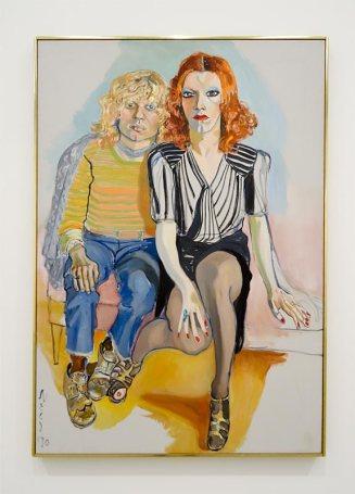 Alice Neel, Jackie Curtis et Ritta Redd, 1970