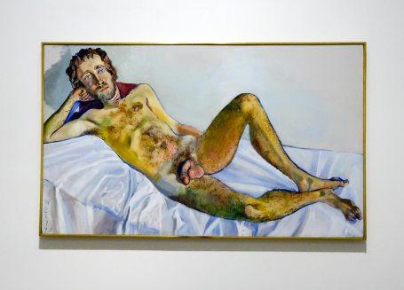 Alice Neel, John Perreault, 1972