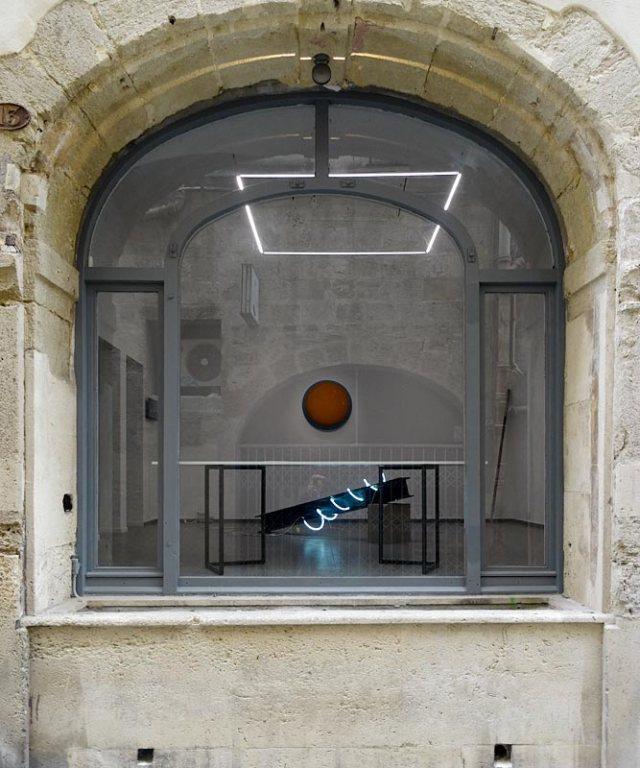 La convergence des antipodes, Mécènes du Sud Montpellier-Sète - Vue de puis le rue des balances
