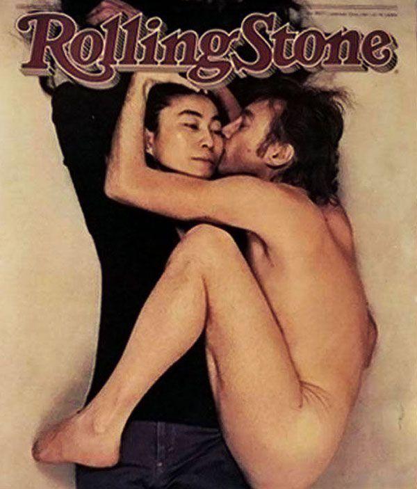 Rolling Stone n° 334, janvier 1981. John Lennon and Yoko Ono, Photo Annie Leibovitz
