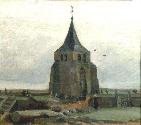 Van Gogh, Le Vieux Clocher, 1884. Huile sur toile l, 47.5 x 55 cm. Fondation Collection E. G. Bührle, Zurich
