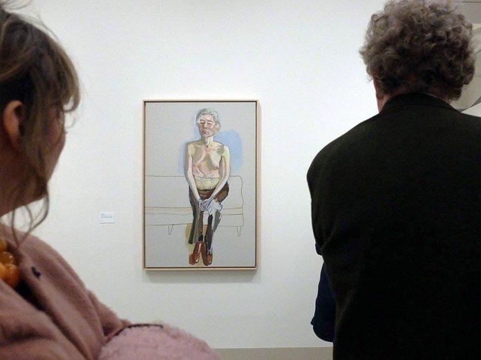 Vue de l'exposition Alice Neel - Peintre de la vie moderne © FVVGA