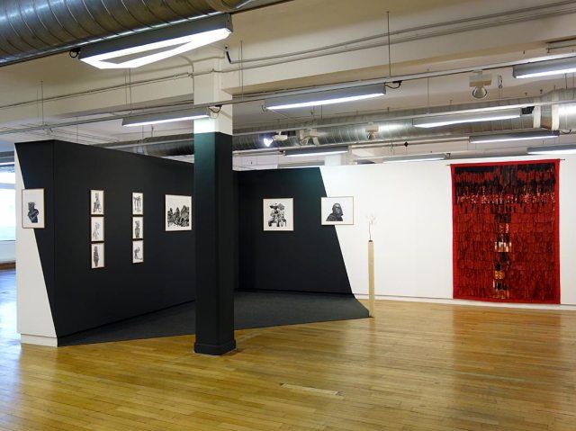 Toufik Medjamia et Abdoulaye Konaté - Beautiful Africa à la Galerie du 5e – Marseille