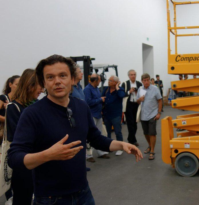 Jean-Michel Othoniel au CRAC à Sète - Montage de La Grande Vague