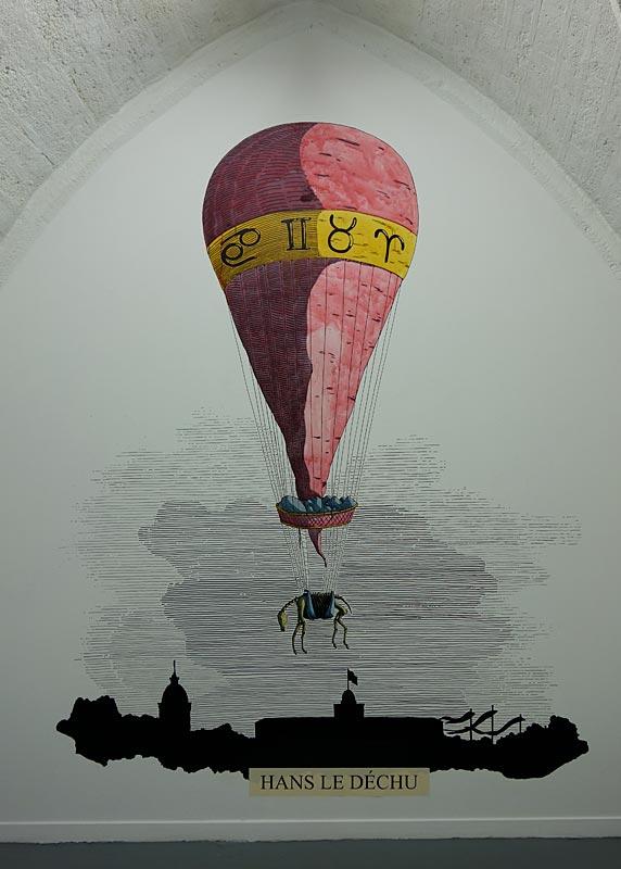 Jimmy Richer - Le club de l'heure sans ombre à la galerie chantiers BoîteNoire