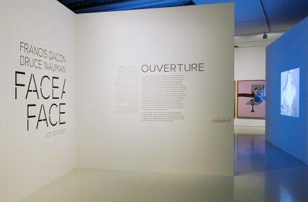 Ouverture - Francis Bacon / Bruce Nauman - Face à face au Musée Fabre, Montpellier