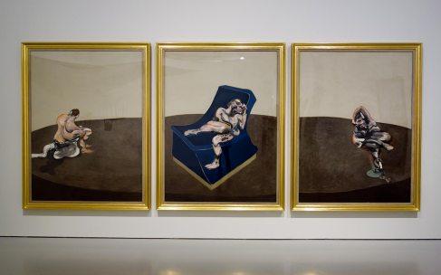 Piste - Rotation, Francis Bacon / Bruce Nauman - Face à face au Musée Fabre, Montpellier