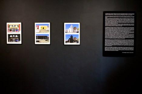 Yann Dumoget, L'oeuvre au noir à la galerie Annie Gabrielli. Photo Yann Dumoget.
