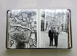 Arthur Lavine, Album sur l'inauguration du «Groupe de quatre arbres», en octobre 1972 - L'outil photographique Rencontres Arles 2017