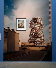 Jean Dubuffet, Photomontage avec Wolf Slawny, laTour aux Figures - L'outil photographique Rencontres Arles 2017