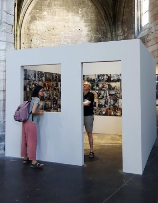 Michael Wolf, La vie dans les villes - Rencontres Arles 2017 - 100 x 100 (2006)