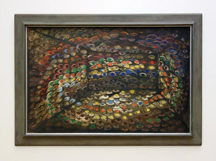 Passion de l'art, galerie Jeanne Bucher Jaeger depuis 1925 au Musée Granet - Maria Helena Viera da Silva, Scala ou les yeux, 1937