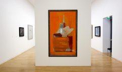 Passion de l'art, galerie Jeanne Bucher Jaeger depuis 1925 au Musée Granet - Nicolas de Staël, Atelier fond orange, 1955