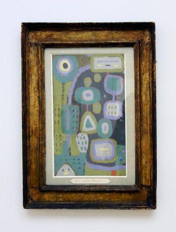 Passion de l'art, galerie Jeanne Bucher Jaeger depuis 1925 au Musée Granet - Paul Klee, Pales Offrandes, 1937