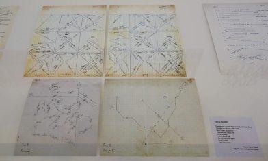 Yvonne Rainer, Diagrammes pour déplacements scéniques - A different way to move - Minimalismes
