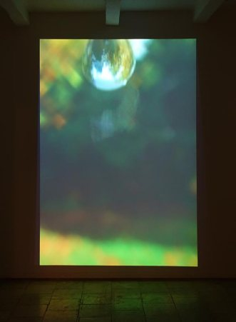 Bertrand Gadenne, La lgoutte d'eau - Gannier Modenne à Art-Cade Galerie Bains Douches, 2017