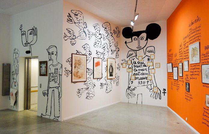 Dessin-Destin, Collection Jean-Charles de Castelbajac - Drawing room 017 - La Panacée Montpellier
