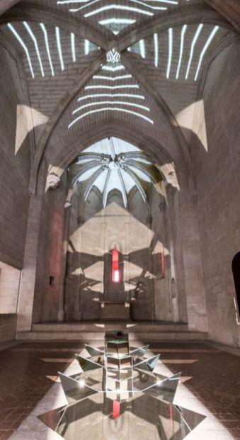 AILO «Light is more» au Château de Tarascon - Composer. Photo Fabrice Leroux