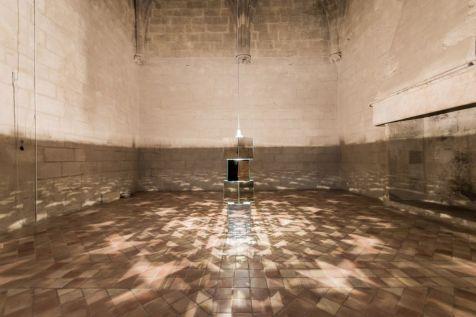 AILO «Light is more» au Château de Tarascon - Light Construction. Photo Fabrice Leroux
