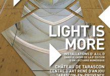 AILO «Light is more» au Château de Tarascon