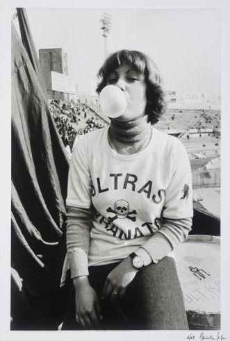 "Daniele Segre, serie ragazzi di-stadio, 1977_79. Mucem - Exposition ""Nous sommes Foot"" au Mucem - Marseille"