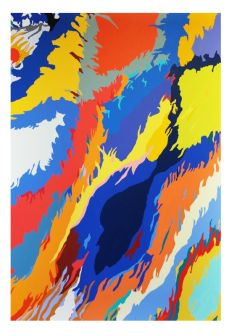 Louis Granet - untitled, 197x135, acylic on canvas, 2017-hd