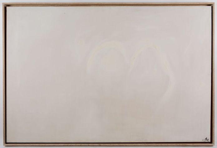 Pierre Tal Coat, Dans la clarté, 1972 Huile sur toile 130 x 195 cm Collection Sylvie Baltazart-Eon Photo: Augustin de Valence, © ADAGP Paris 2017