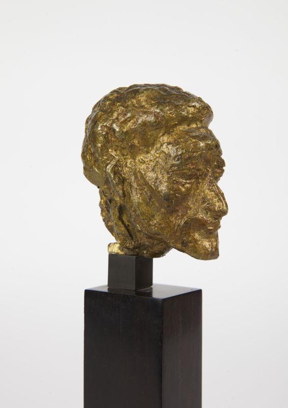 Pierre Tal Coat, Portrait d'Alberto Giacometti (Tête), vers 1934-1935 Bronze 5,8 x 6 x 5 cm Collection Aittouarès Photo: Bertrand Michau, © ADAGP Paris 2017