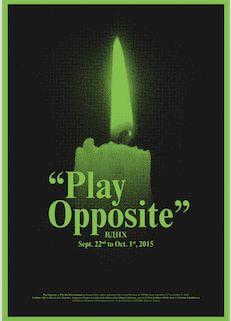 Saâdane Afif, «Play Opposite» - 6e Biennale de Moscou, 2015 Photo : http://playopposite.tumblr.com/