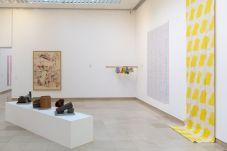Supports-Surfaces Les origines 1966-1970 - Carré d'Art, Nîmes - Salle 3 © C. Eymenier