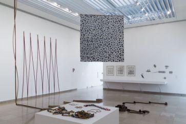 Supports-Surfaces Les origines 1966-1970 - Carré d'Art, Nîmes - Salle 6 © C. Eymenier