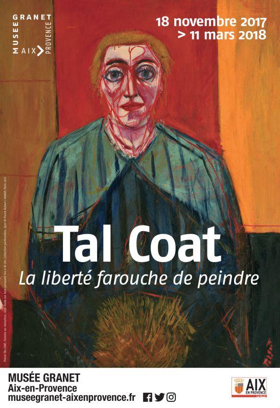 Tal Coat - La liberté farouche de peindre au Musée Granet - Affiche