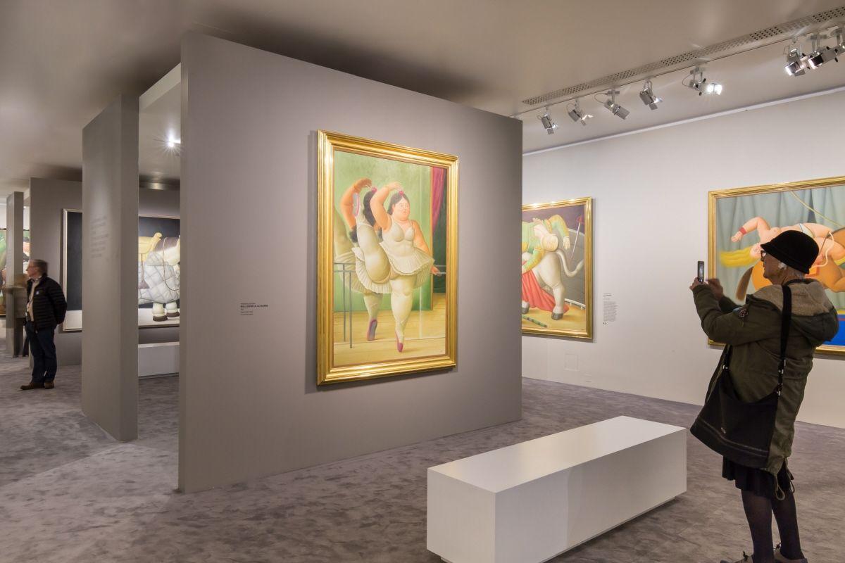 Botero, dialogue avec Picasso à l'Hôtel de Caumont. Vue de l'exposition Photo © Caumont-Centred'Art © Botéro