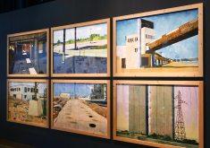 Yvan Salomone, aquarelles - Connectivités au Mucem - La Méditerranée aujourd'hui