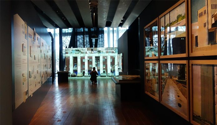 Connectivités au Mucem - La Méditerranée aujourd'hui - Vue de l'exposition