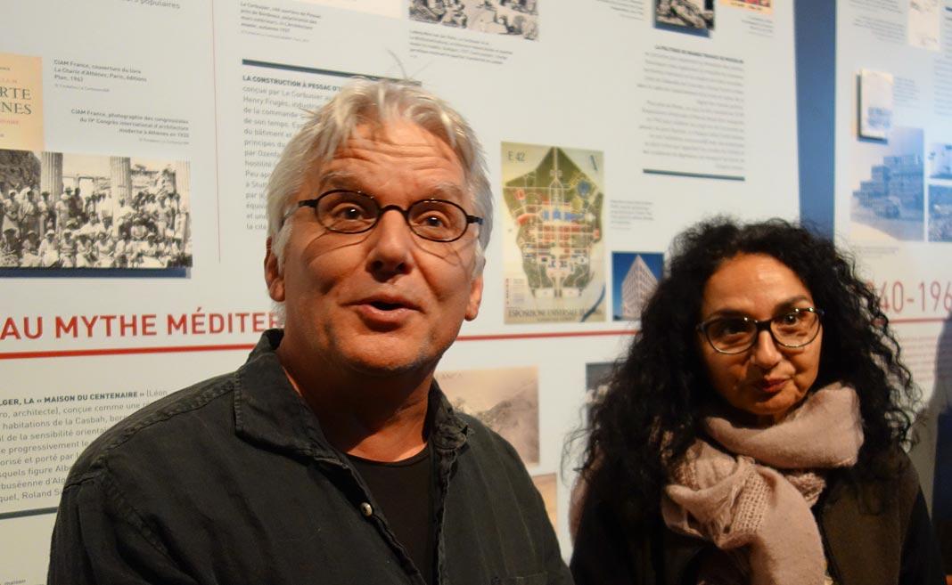 Yvan Salomone et Sylvia Amar-Gonzalez - Connectivités au Mucem - La Méditerranée aujourd'hui