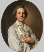 Joseph Siffred Duplessis, Portrait d'Abraham Fontanel, vers 1779, huile sur toile, Montpellier, chapelle des Pénitents bleus, classé monument historique